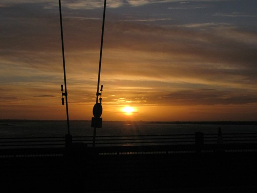 Sunset from the Humber Bridge