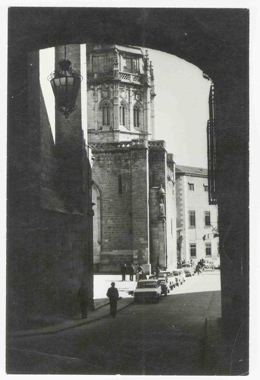 Arco de Palacio hacia 1970. Colección Luis Alba. Ayuntamiento de Toledo