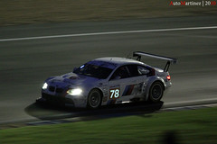 BMW M3 GT2 n 78 - 24h du Mans 2010 (Automartinez) Tags: cars night canon rouge eos is competition s du racing course m mans le german porsche bmw m3 endurance bugatti circuit nuit alban tertre gt2 voitures 2010 dunlop 24h arnage virage sarthe 500d joachin allemande mulsane n78 55250mm automartinez