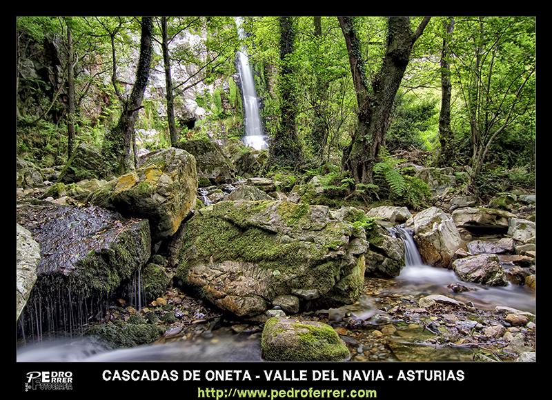 Cascadas de Oneta - Asturias