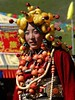 wow! strong girl - massive headdress and beadery (BetterWorld2010) Tags: tibetans coral festival gold amber necklace beads costume treasure dress jewelry tibet ring celebration bracelet amdo kham sichuan traditionalcostume 2009 litang headdress robes yushu 服饰 tibetanwoman 玉树 理塘 藏族 khampa golok lithang tibetangirl tribalcostume tibetanfestival 康巴 tibetanwomen