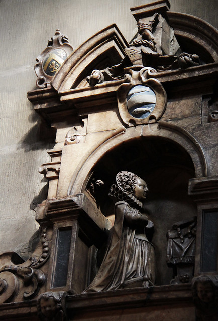 Monument of Elizabeth Freshwater, 1617