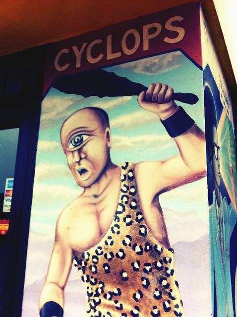 I am not a cyclops