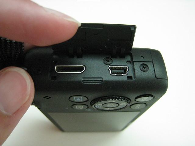 HDMI And Mini USB Slot