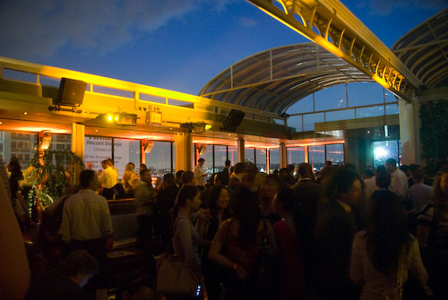 nightlife, nyc, new york city, hudson terrace, rooftop