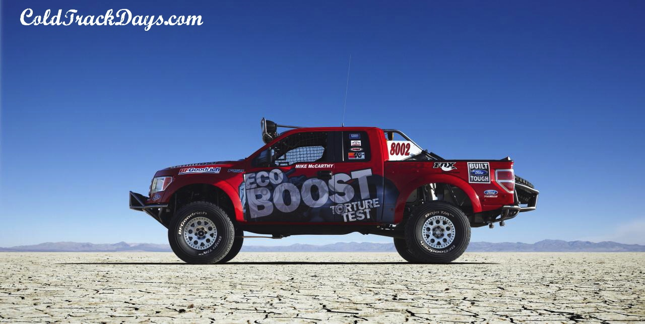 NEWS // FORD TO RACE F-150 ECO BOOST IN BAJA 1000