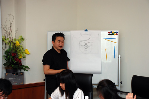 Caricature Workshop for Spire Research & Consulting - 20