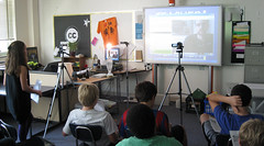 Skype in the Classroom by mrmayo, on Flickr