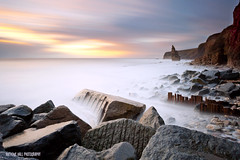 Seaham (Azzmataz) Tags: county seascape sunrise big long exposure durham 10 stack stop filter lee filters stopper seaham bigstopper anthonyhallphotography
