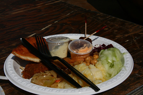 Schnitzel & Things Plate