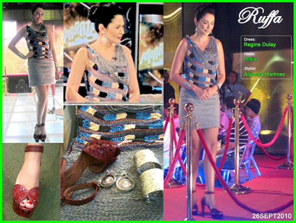 Ruffa Gutierrez Fashion Sunday 26SEPT2010