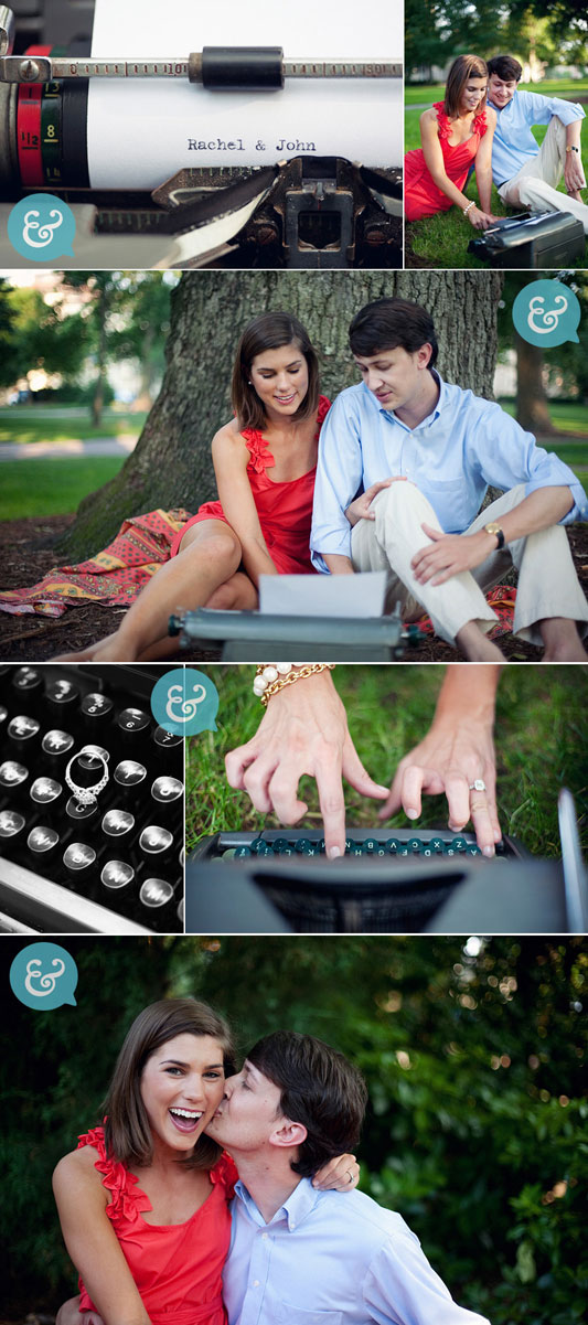 Typewriter_Engagement_Photos
