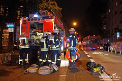Feuer Oranienstraße 25.09.10