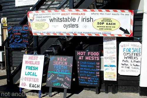 Whitstable seafood