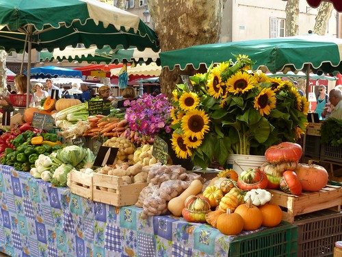 Market day in Avignon