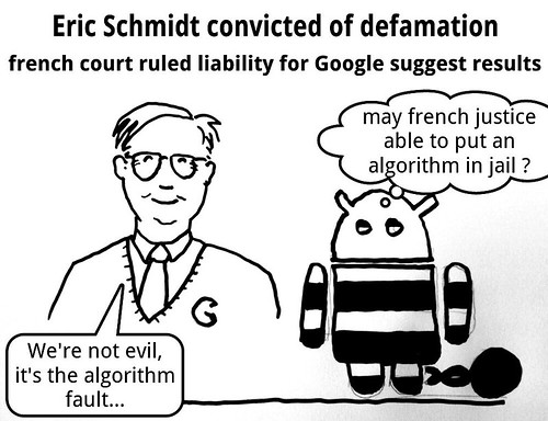 Google suggest condamné: picture google suggest defamation by danielbroche