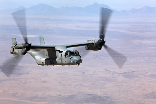 Osprey Supports Afghan, Coalition Forces in Afghanistan