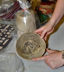 Incantation Bowl from Nippur, Iraq, 750 - 850 CE (Penn Museum) Tags: ceramic ancient iraq bowl clay bol cermica irak nippur