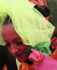 Glastonbury Performer (joy7d) Tags: street pink lady theatre glastonbury glasto worthyfarm glastonbury2009