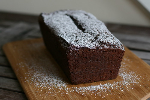 Cocoa Banana Loaf