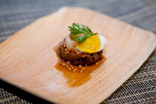 Craft: Pork Trotter and Sunnyside up egg