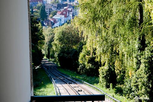 Tranvia a Durlach Turmberg
