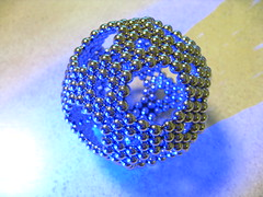IMG_5202 - Geometry 1: Hollow Truncated Icosahedron (tend2it) Tags: sculpture art 3d cool geometry magnets sphere zen hexagon magnet sculptures icosahedron magnetic truncated buckyballs neodymium neocube magcube cybercube nanodots zenmagnet zenmanagnets magnetcoolmagnetic