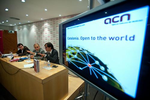 Presentació CNA a Madrid