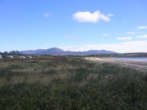 Carradale Bay campsite, Kintyre