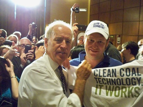 Joe Biden with Clean Coal Technology