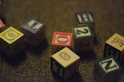 Children's Blocks - Nikon D3100 @ ISO 12,800
