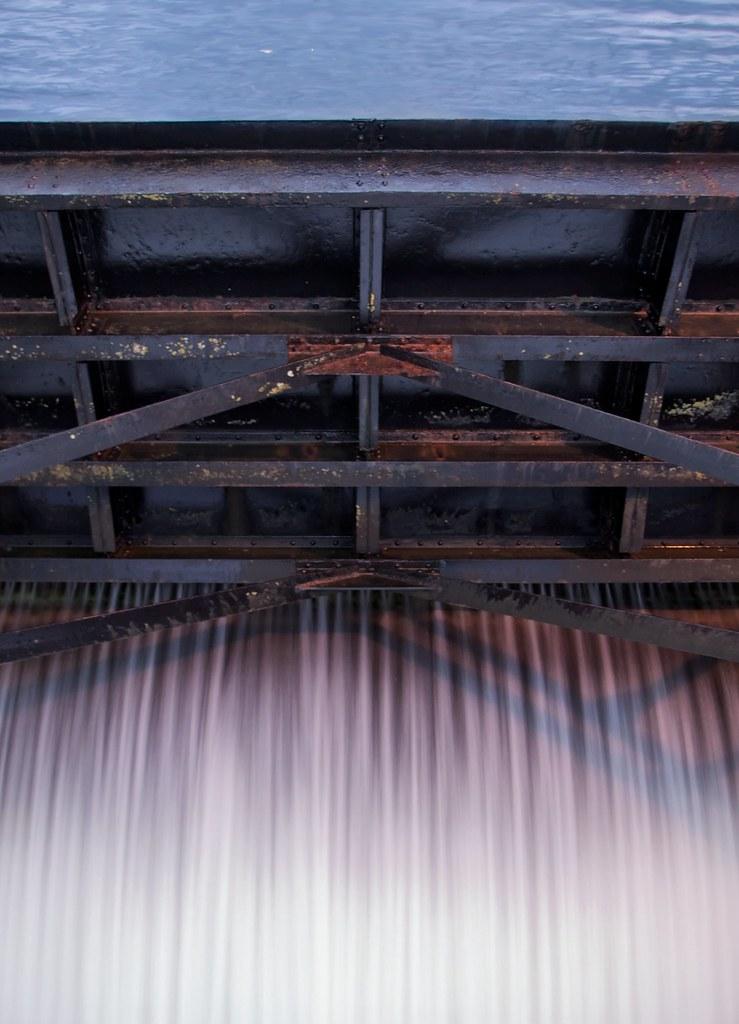 Ballard Locks spillway