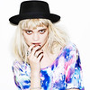 pixie02-650 (Fashion Graphics) Tags: hat fashion print graphics pixie marble cosmic bold styling geldof