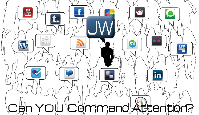 can you command attention on social media?