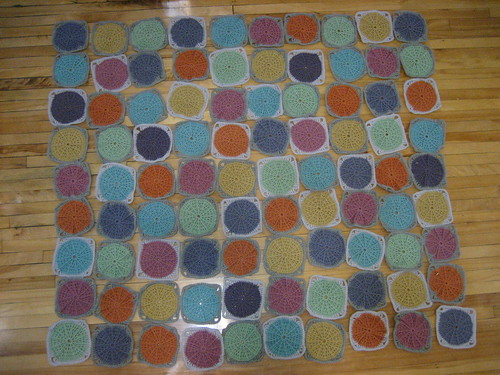Dotty Blanket layout