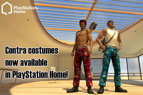 PlayStation Home: Contra Costume