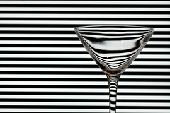 Day 043 (Joel_C) Tags: white distortion black glass lines contrast martini