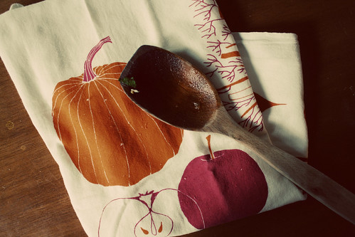 autumn towel, kitchen