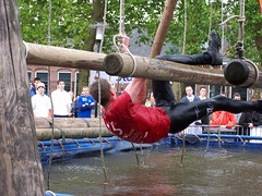 Remi Rondeel in actie in Udenhout