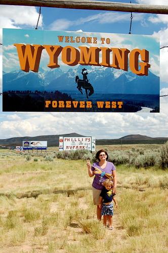 Wyoming Border