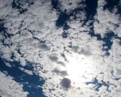 Angel's Light (**Ms Judi**) Tags: blue light sky cloud love beautiful angel clouds wonderful skyscape awesome warmth bluesky spiritual comfort magical godsgift msjudi angelslight judistevenson photographybymsjudi