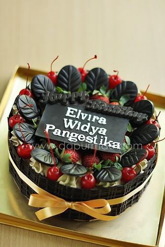 Mocha Choco Cake - Anneke