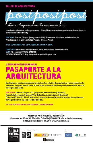 Oficina Informal / Postpostpost / Medellín