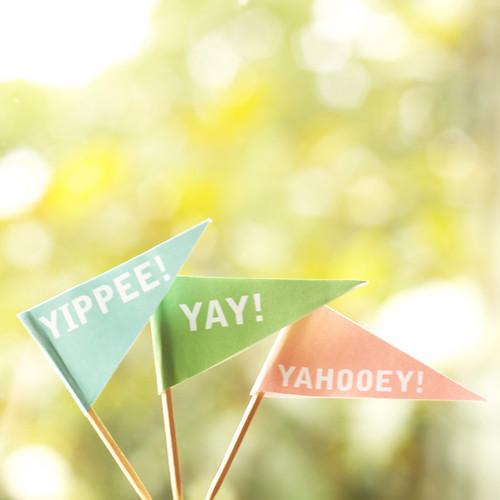 Yippee! Yay! Yahooey!