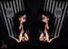 [Wallpaper] Pullip Doll - Toxic - by Kikyô (Kikyô) Tags: doll noir handmade gothic contest makeup vert poetic bleu wig mohair horror pullip poison baroque gothique sculpted ambiance horreur peur terreur glauque romantique rayures faceup obitsu poetique torturèe yeuxaveugles obitsucustom faceuppullip