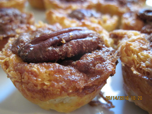 Made with Optimism: bite-size pecan pies in a cream cheese crust
