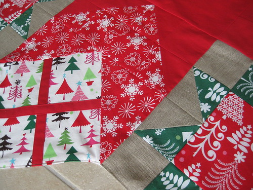 christmascloth detail