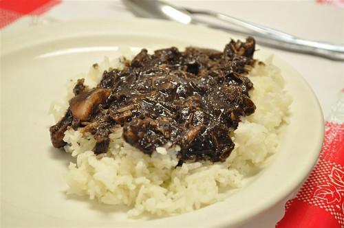 dinuguan with rice
