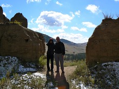 Me and Vicky at Bogd Haan (jayselley) Tags: park nationalpark asia september mongolia national exodus 2010 mongol mongolianadventure bogdhaan