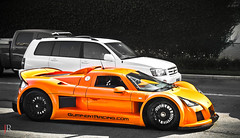 Gumpert Apollo (texan photography) Tags: orange texas low houston ferrari enzo fin bugatti apollo lamborghini rare supercar astonmartin spoiler f430 veyron blackrims superfast 458 gumpert lp640 gumpertapollo worldcars 599gto hustontexas lp560 texanphotography